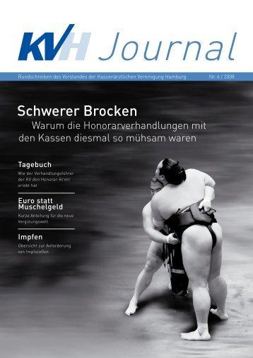 Schwerer Brocken - Kassenärztliche Vereinigung Hamburg