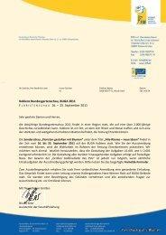 Koblenz Bundesgartenschau, BUGA 2011 16. – 25 ... - FDF
