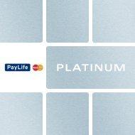 dank der Versicherungsleistungen Ihrer PayLife ... - Kreditkarte.at