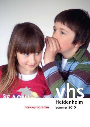 am Samstag, 24. Juli von 9 - Stadt Heidenheim