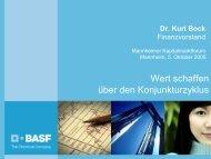 Dr. Kurt Bock - BASF.com