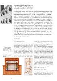 Vertikalschiebefenster Schieben statt Drehen - Holzmanufaktur ...