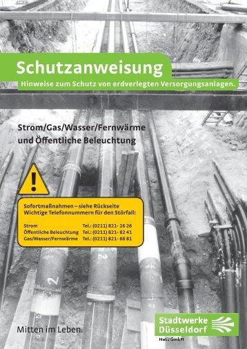 Erkundigungspflichten bei Bauarbeiten bzw. Schutzanweisung