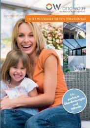 Programm für den Terrassenbau - OTTO WOLFF KUNSTSTOFFE