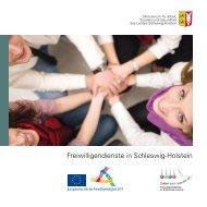 Freiwilligendienste in Schleswig-Holstein - engagiert-in-sh