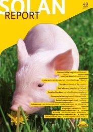 SOLAN REPORT Nr. 49 - 2011 - Solan Kraftfutterwerk