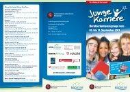 Berufsorientierungstage vom 03. bis 17. September 2011 ...