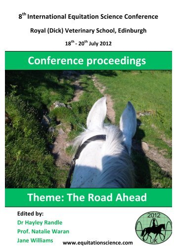 Conference proceedings Theme: The Road Ahead - International ...