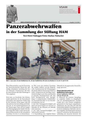 Panzerabwehrwaffen - Verein Schweizer Armeemuseum