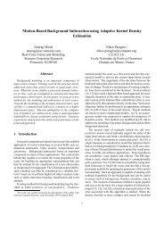 Motion-Based Background Subtraction using Adaptive Kernel ...