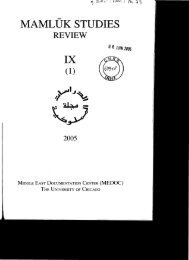 MAMLUK STUDIES IX - Islamic Law Materialized