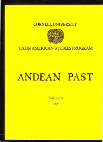Volume 5 - Latin American Studies Program - Cornell University