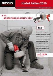 Herbst Aktion 2010 - Reiter Werkzeuge
