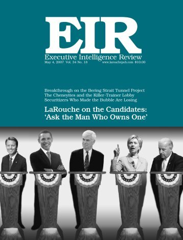EIRGreat Projects - Executive Intelligence Review