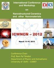 International Conference and Workshop ... - University of Delhi