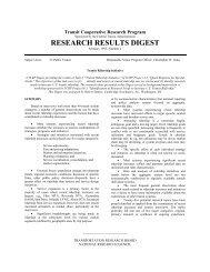 TRANSIT RIDERSHIP INITIATIVE - Transportation Research Board