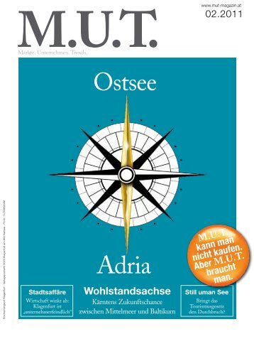 Ostsee Adria - MUT Magazin
