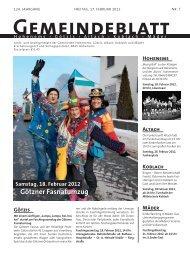 GBM2012 Woche 07 - Gemeinde Mäder