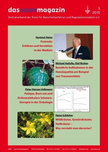 das zaenmagazin - Ortho-Bio-Med Centro di cura Specialistico