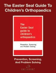 The Easter Seal Guide To Children's Orthopaedics - Global HELP