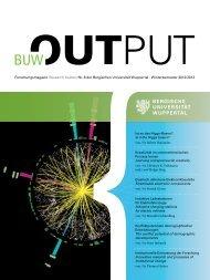 BUW.OUTPUT-Forschungsmagazin (PDF-Datei, 3,68 MB