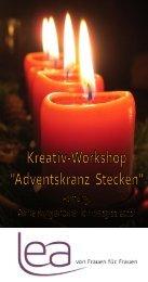Adventskranz Stecken - Freie Evangelische Gemeinde Schaan