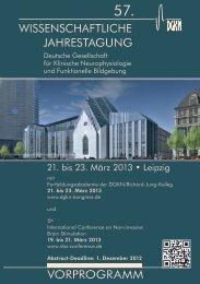 PDF Download Vorporgramm DGKN2013 - 57. Jahrestagung der ...