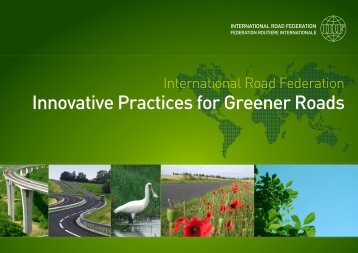 IRF Innovative Practices for Greener Roads - International Road ...