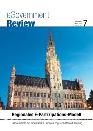 Ausgabe Nr. 7 - Januar 2011 - eGovernment Review