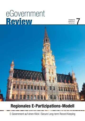 Ausgabe Nr. 7 - Januar 2011 - eGovernment Review
