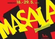Programm - Masala Weltbeat Festival