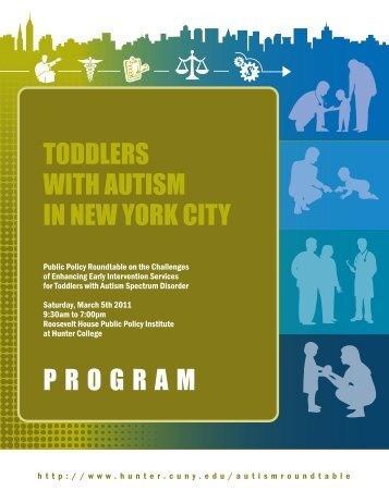 toddlers with autism in new york city program - Hunter College - CUNY