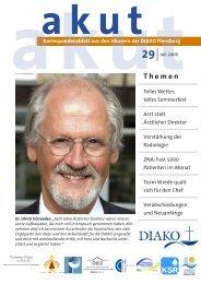 Akut 29 Juli 2006.indd - DIAKO Flensburg