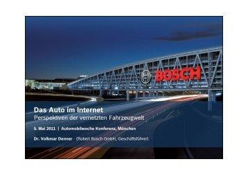 Die Präsentation hier als PDF zum Download - Automobilwoche ...