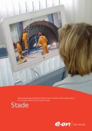 Decommissioning and dismantlement of the Stade nuclear power ...