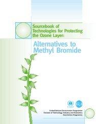 Alternatives to Methyl Bromide - Unep Dtie
