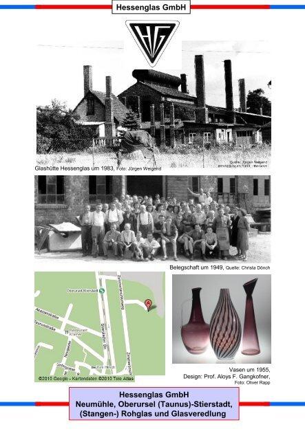 Hessenglas GmbH Hessenglas GmbH Neumühle, Oberursel ...