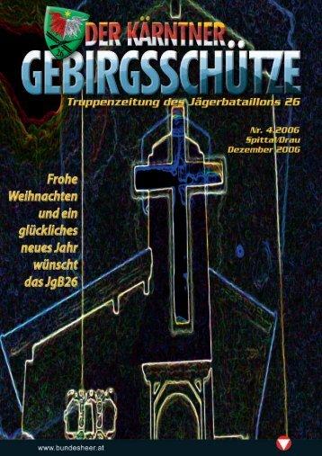 Jägerbataillon 26 Fünfzig Jahre - Österreichs Bundesheer