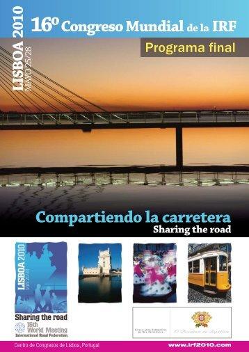 Programa - Instituto Vial Ibero-Americano