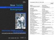 Vollversion (9.35) - Forschungsjournal Soziale Bewegungen