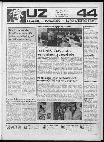 Aus anderen Hochschuleri berichtet - Universitätsarchiv Leipzig ...