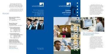 Zahlen und Fakten Die Universität Bonn Kontakt