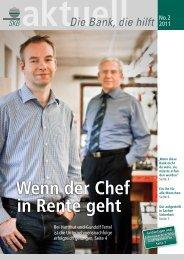 SKB-Newsletter No.2 2011 - Spar- und Kreditbank des Bundes ...