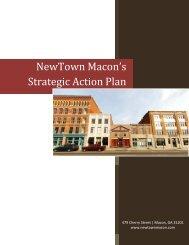NewTown Macon's Strategic Action Plan Implementation Strategies