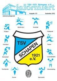 Online Zeitung - TSV 1921 Schapen e.V.