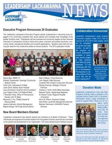 Executive Program Announces 20 Graduates New Board Members ...
