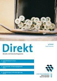ZDB Direkt 4-2010.pdf - Zentralverband des Deutschen ...
