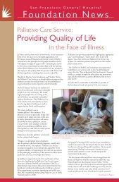 Spring (Vol. 11, No. 1) - San Francisco General Hospital Foundation