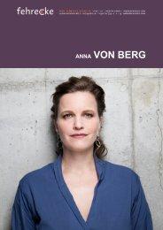 ANNA VON BERG - Fehrecke