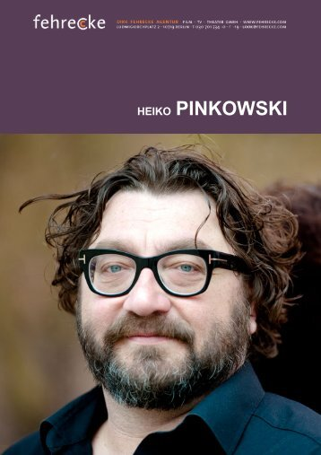 HEIKO PINKOWSKI - Fehrecke